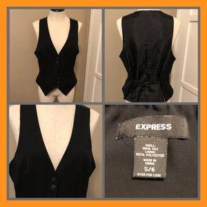 Express Black Vest